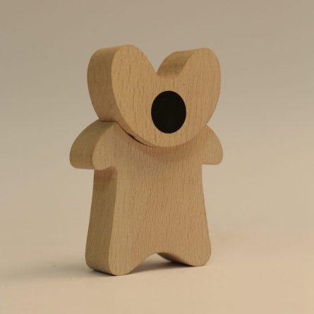 Скульптура «ОНА». Дерево. Автор: Андрей Люблинский