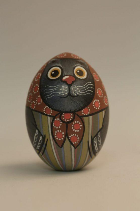 """Яйцо большое """"Кот"""". Алина Путятична"""