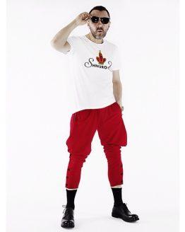 Штаны галифе мужские красные от Сергея Шнурова
