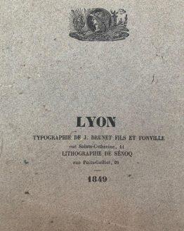 Osteologie et myologie, 1849 г.