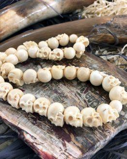 Ожерелье Череп бивень мамонта