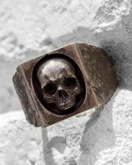 Печатка с черепом