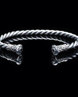 Браслет Обруч серебро