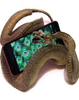Мумия змеи, подставка под телефон