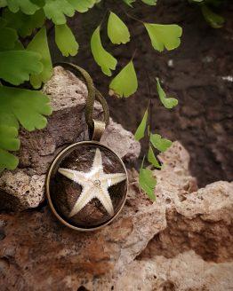 Кулон с морской звездой