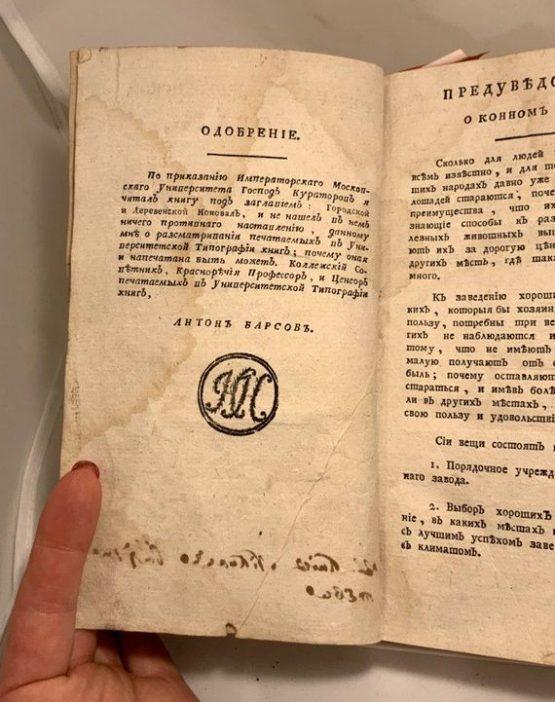 Городской и деревенский коновал. 1783