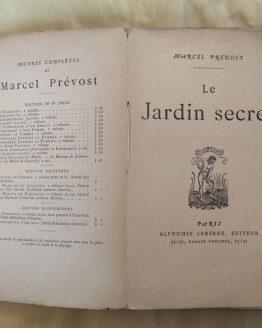 Le Jardin secret. M. Prevost