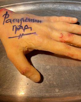 Расчлениград. Сувенир из города на Неве - «Конечность»